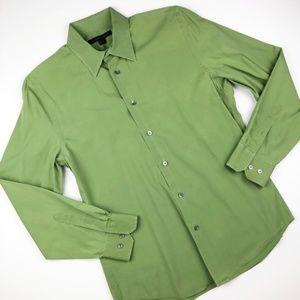Express Design Studio Men's Button Down Shirt  M